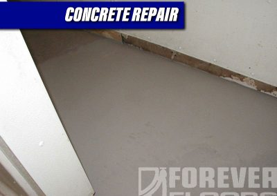 Concrete Repair Re-sloped Underlayment Complete