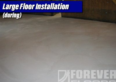 Large Floor Installation (overlay complete)