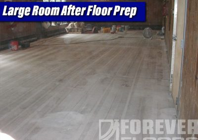 Large Rom After Floor Prep