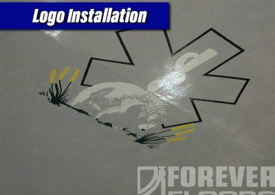 Logo Installation